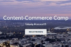 Content-Commerce Camp 2015 in Leipzig