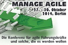 Manage Agile Konferenz 2014 in Berlin