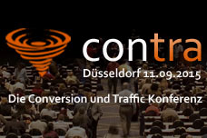 "3. Conversion und Traffic Konferenz ""contra"" 2015"