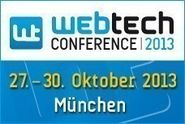 WebTech Conference 2013 in München
