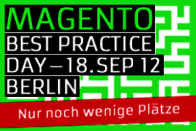 Magento Best Practice Day 2012 Berlin