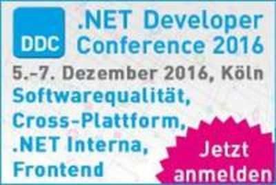 DDC .NET Developer Conference 2016