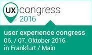 user experience congress 2016