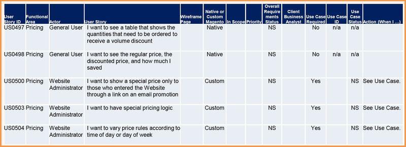 Requirement Engineering für Magento Shops