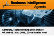 Business Intelligence Agenda 2016