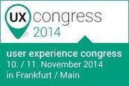 user experience congress 2014 in Frankfurt