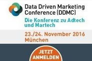 Data Driven Marketing Conference 2016