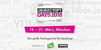 JavaScript Days, Angular Days, HTML5 Days und React Days