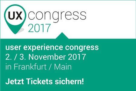 user experience congress 2017 Frankfurt am Main