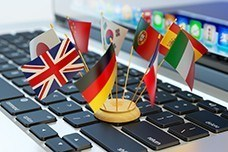 internationaler Onlinehandel