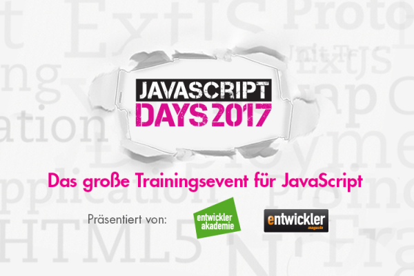 JavaScript Days 2017