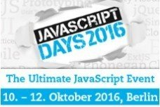 JavaScript Days 2016 in Berlin