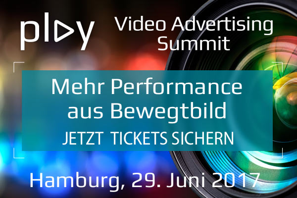PLAY – VIDEO ADVERTISING & MARKETING SUMMIT